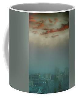 The Planet Above The Earth Coffee Mug