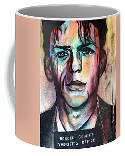 Coffee Mug featuring the pastel The Player by Eric Dee