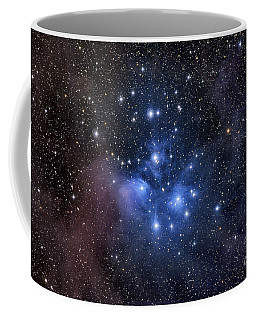 Coffee Mug featuring the photograph The Pleiades, Also Known As The Seven by Roth Ritter