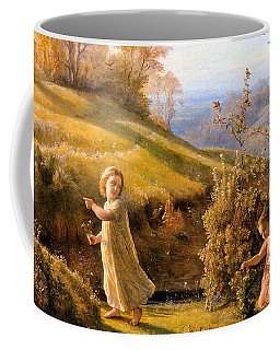 The Poem Of The Soul Spring Anne Francois Louis Janmot 1854. Coffee Mug