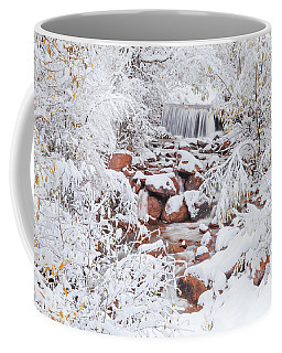 The Poetic Beauty Of Freshly Fallen Snow  Coffee Mug
