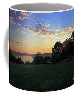 The Point At Sunrise Coffee Mug