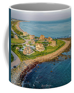 The Point At Weekapaug Coffee Mug