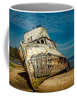 Coffee Mug featuring the photograph The Point Reyes Beached by Bill Gallagher