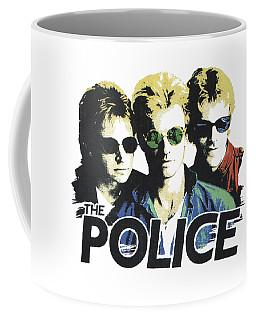 The Police Coffee Mug by Gina Dsgn