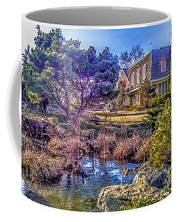 The Pond At Peddler's Village Coffee Mug