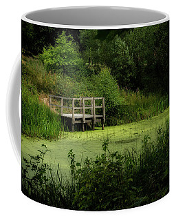 Coffee Mug featuring the photograph The Pond by Jeremy Lavender Photography