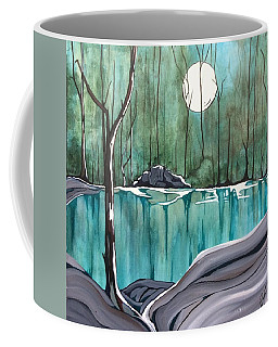 The Pond Coffee Mug by Pat Purdy