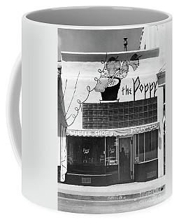 The Poppy, Coffee Shop, Fountain, Alvarado Street, Monterey Circ Coffee Mug