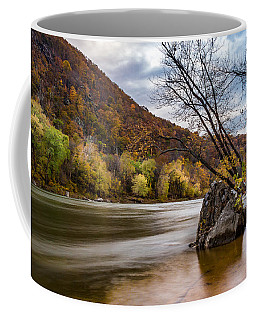The Potomac In Autumn Coffee Mug by Ed Clark