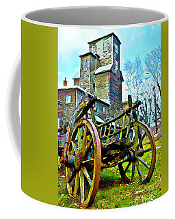 The Pottery - Bennington, Vt Coffee Mug by Tom Cameron