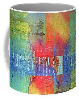 Coffee Mug featuring the digital art The Power Of Colour by Tara Turner
