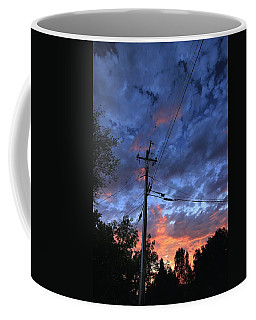 Coffee Mug featuring the photograph The Power Of Sunset by Sean Sarsfield