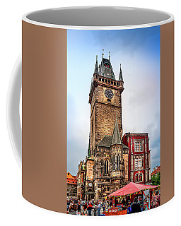 The Prague Clock Tower Coffee Mug