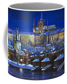 The Prague Panorama Coffee Mug