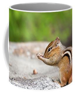The Praying Chipmunk Coffee Mug