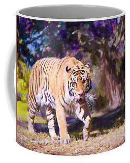 Coffee Mug featuring the painting The Predator Edition 2 by Judy Kay
