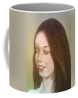 The Pretty Brunette Coffee Mug