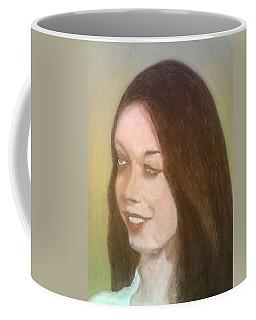 The Pretty Brunette Coffee Mug