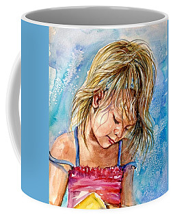 The Princess Of The Sand Castle Coffee Mug