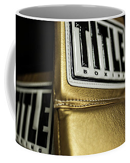 Title Boxing Gloves Coffee Mug