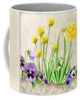 The Promise Of Spring - Dragonfly Coffee Mug by Audrey Jeanne Roberts