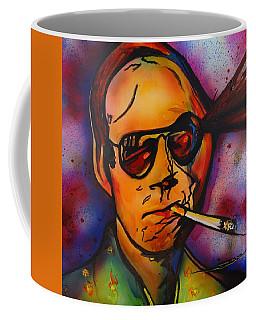 The Psycho-delic Suicide Of The Tambourine Man Coffee Mug