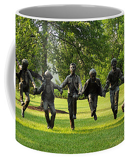 The Puddle Jumpers At Byers Choice Coffee Mug