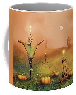 The Pumpkin Thief Coffee Mug