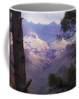 The Purple Grand Coffee Mug by Marna Edwards Flavell