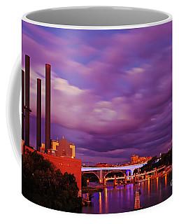 Coffee Mug featuring the photograph The Purple People Eaters Of Minneapolis, Minnesota by Sam Antonio Photography