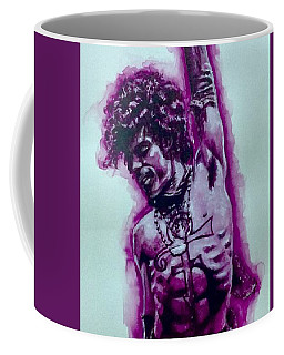 The Purple Prince   Coffee Mug by Darryl Matthews