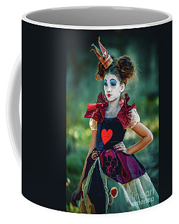 The Queen Of Hearts Alice In Wonderland Coffee Mug