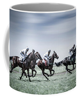 The Race Is On Coffee Mug