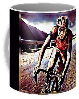 The Race Coffee Mug by Maria Watt