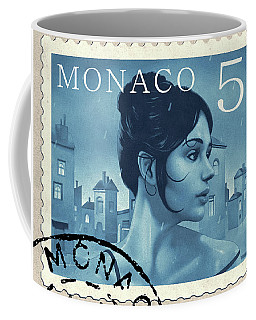 The Rainy Days Stamp Coffee Mug