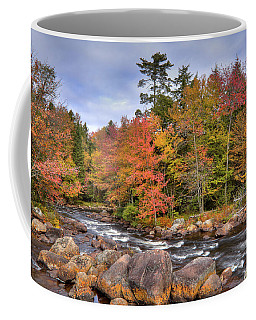 Coffee Mug featuring the photograph The Rapids On The Moose River by David Patterson