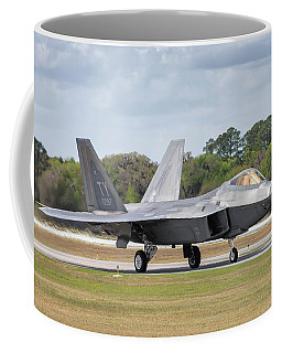 The Raptor Returns - 2017 Christopher Buff, Www.aviationbuff.com Coffee Mug