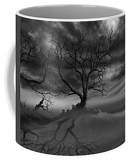 The Raven's Night Coffee Mug by James Christopher Hill