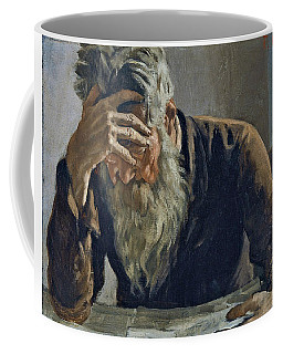 Coffee Mug featuring the painting The Reader by Ferdinand Hodler