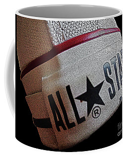 The Converse All Star Rear Label. Coffee Mug by Don Pedro De Gracia