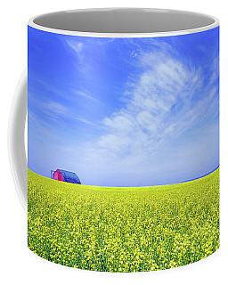 The Red Barn Coffee Mug by Keith Armstrong