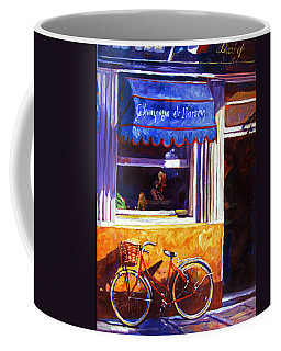 The Red Bicycle Coffee Mug