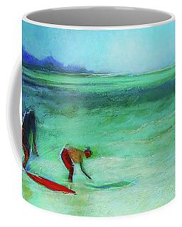 The Red Boogey Board Coffee Mug