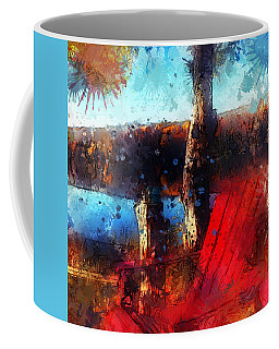 Coffee Mug featuring the photograph The Red Chair by Claire Bull