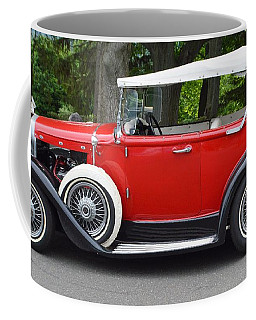 The Red Convertible Coffee Mug