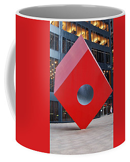 The Red Cube Coffee Mug