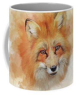 The Red Fox Coffee Mug by Brian Tarr