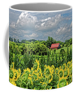 The Red Roofed Barn Coffee Mug