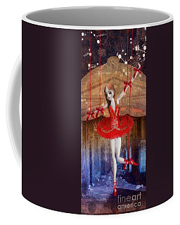 The Red Shoes Coffee Mug by Mo T